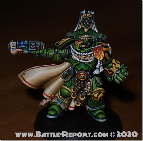 Salamanders Primaris Captain by Tomas