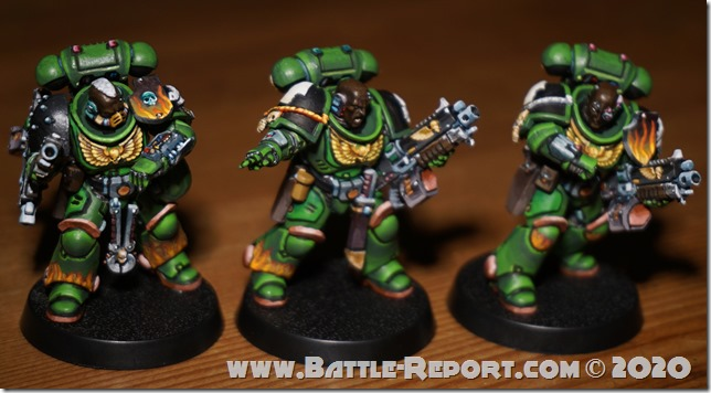Salamanders Primaris Intercessors by Tomas