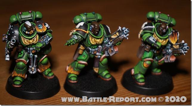 Salamanders Primaris Intercessors by Tomas