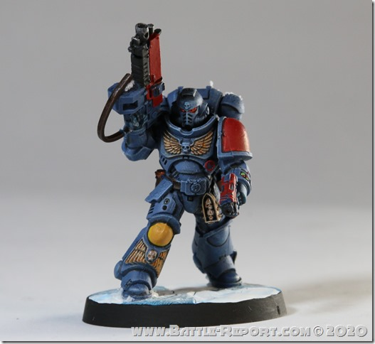 Space Wolves Primaris Lieutenant by Milan