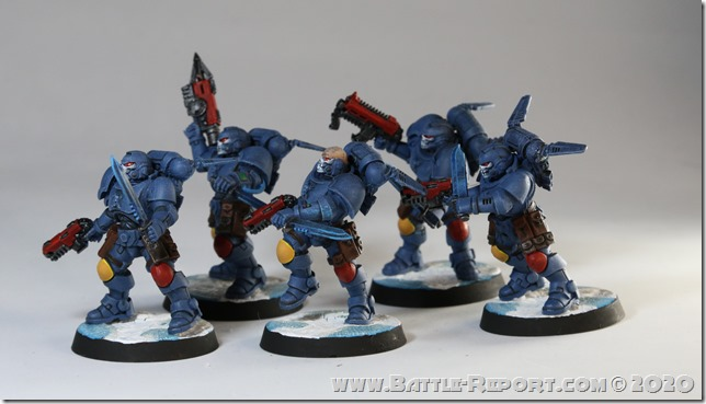 Space Wolves Primaris Reivers by Milan (4)