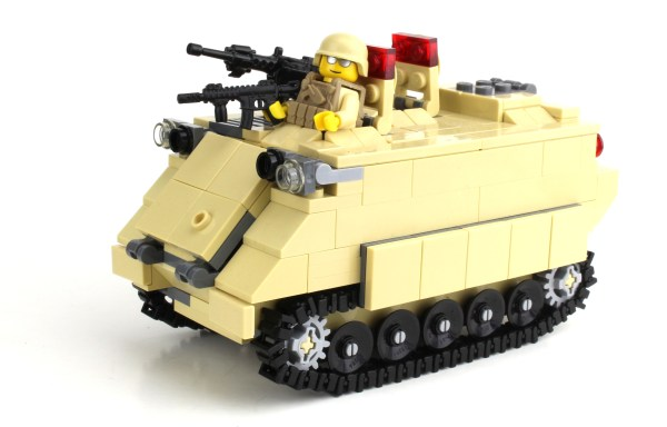 Army Custom Lego Building Instruction - Year of Clean Water