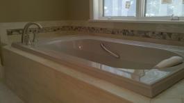 Bathtub tile
