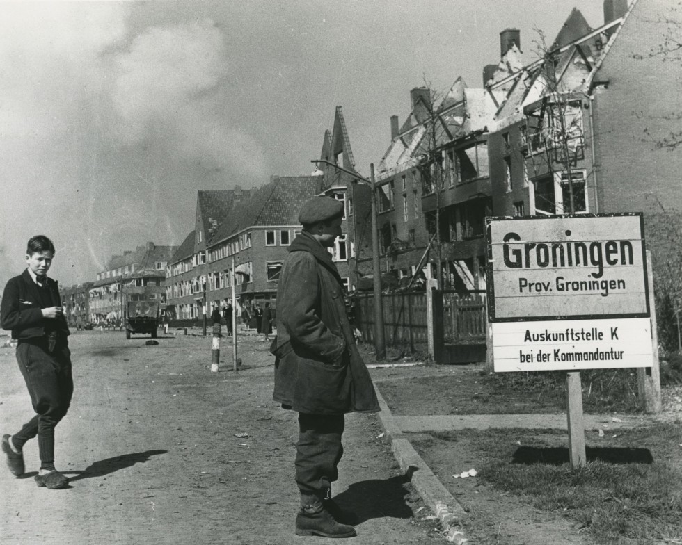 Image result for Battle of Groningen WW II