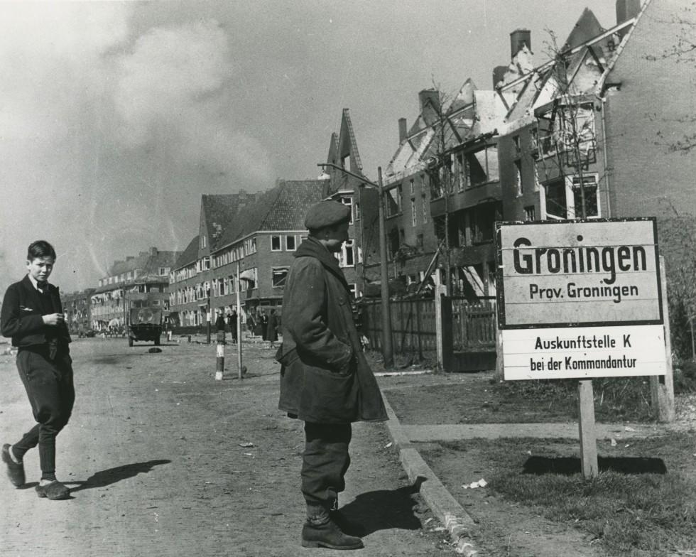 Image result for Battle of Groningen WW II