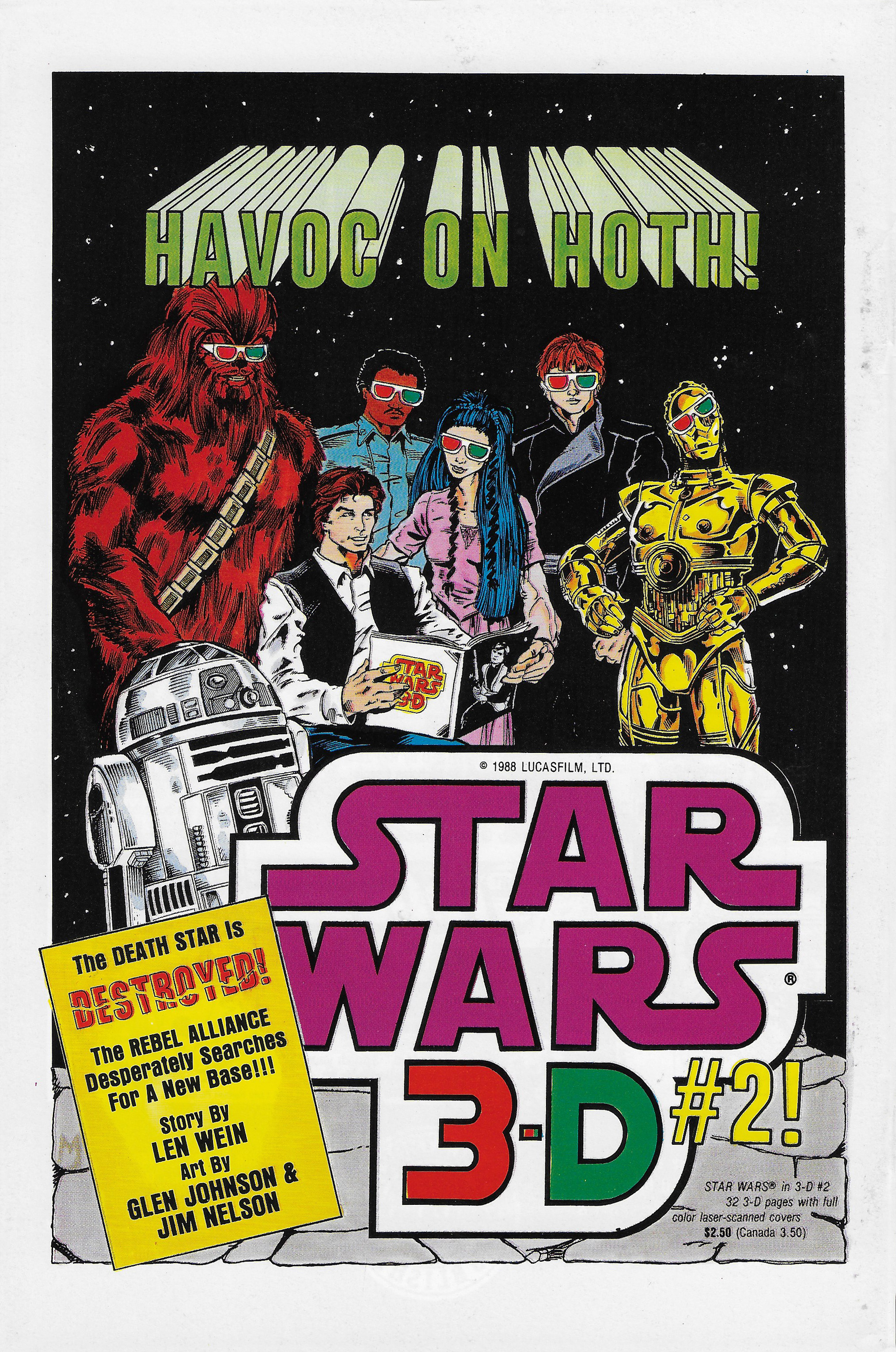 Image result for Star wars 3-D issue 3