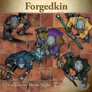 Devin Night's Token Pack #27: Forged Kin