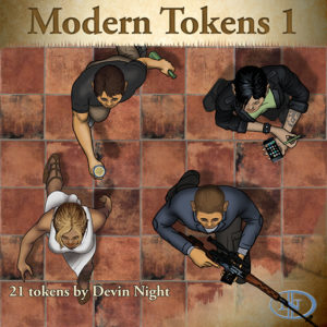 Devin Night's Token Pack #31: Modern Tokens 1