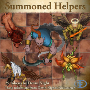 Devin Night's Token Pack #37: Summoned Helpers
