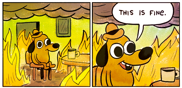 This is fine dog