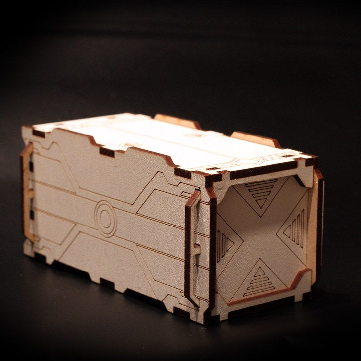 container terrain for infinity