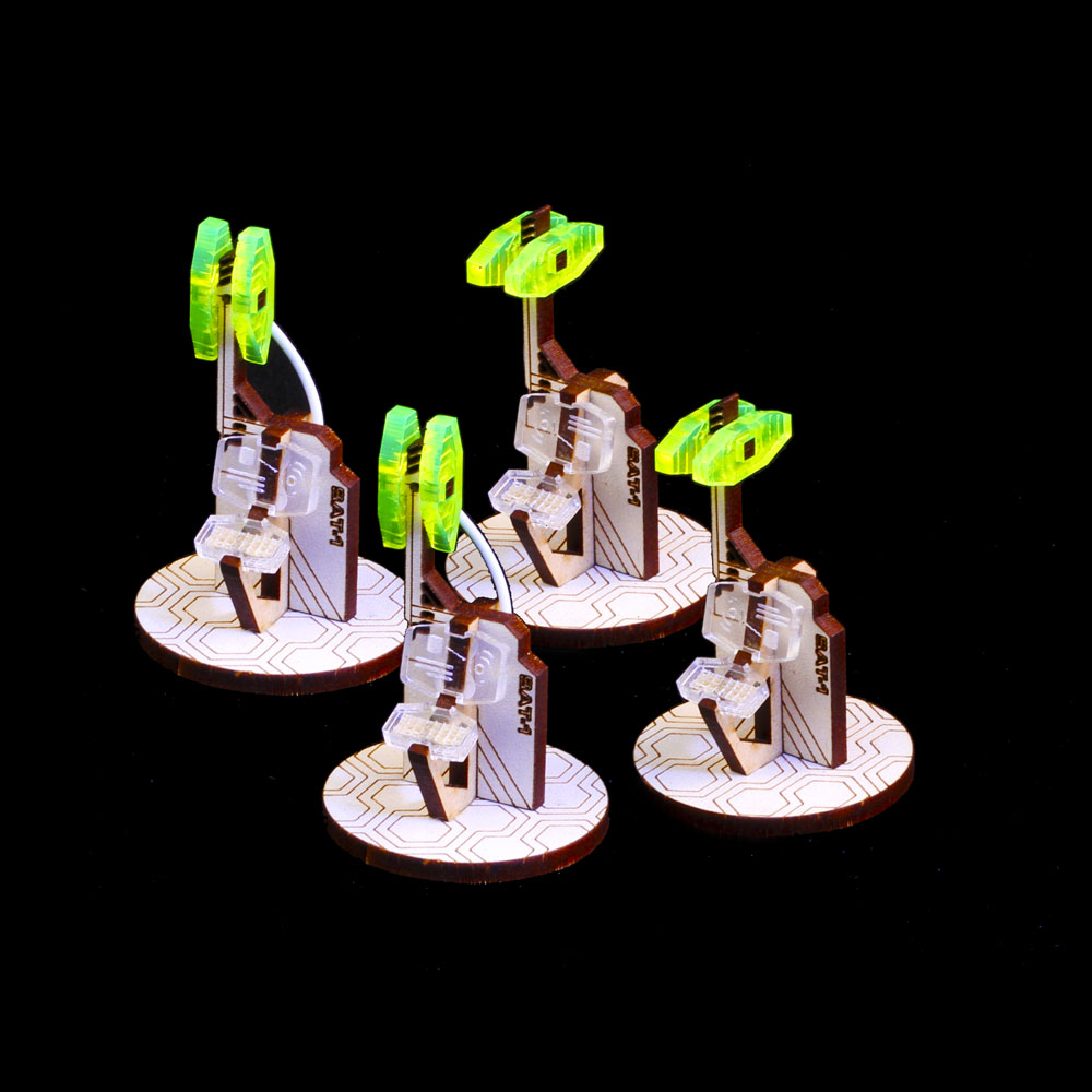 satellite link objective markers for infinity the game