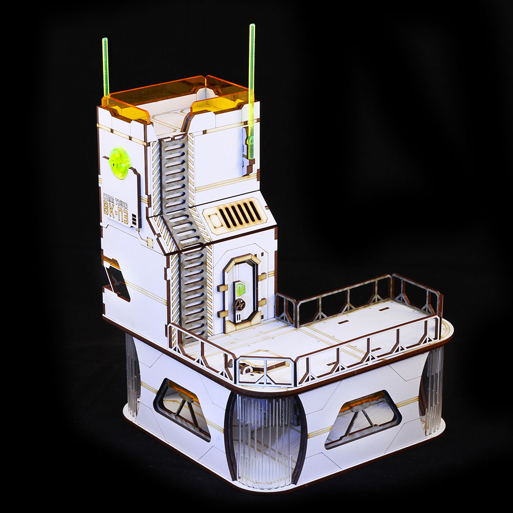 communications tower building for Infinity the game
