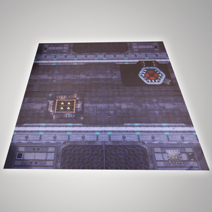 metroplois battle mat for sicfi wargames and skirmish games