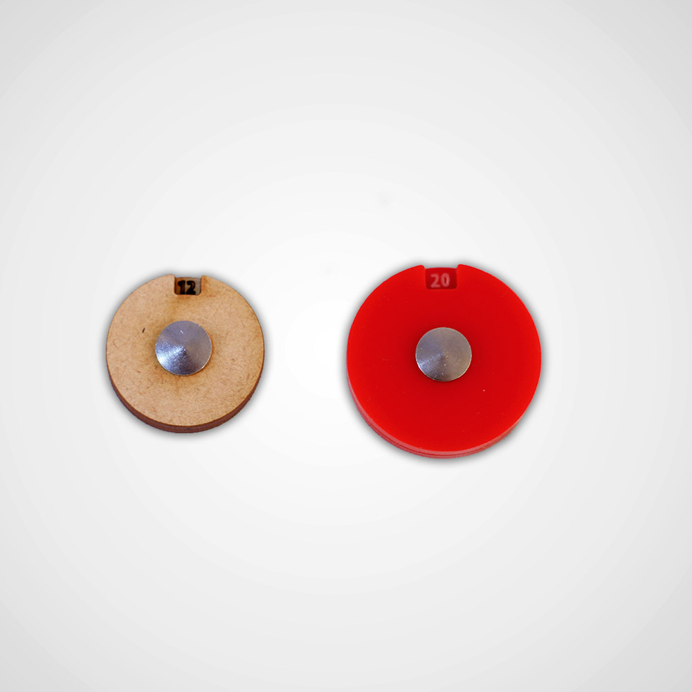 wound tracker dials for tabletop games