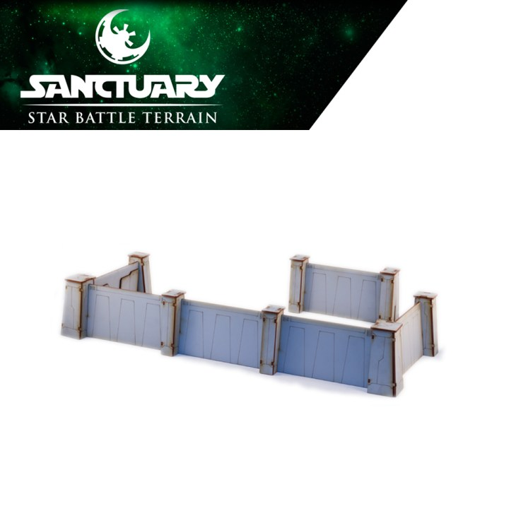 modular imperial outpost walls for star wars legion