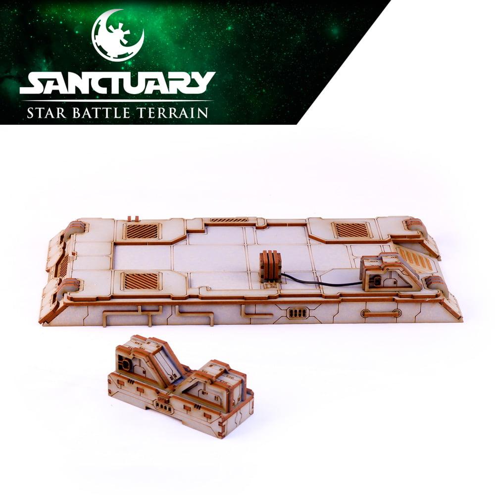 tabletop gaming power platform terrain pieces