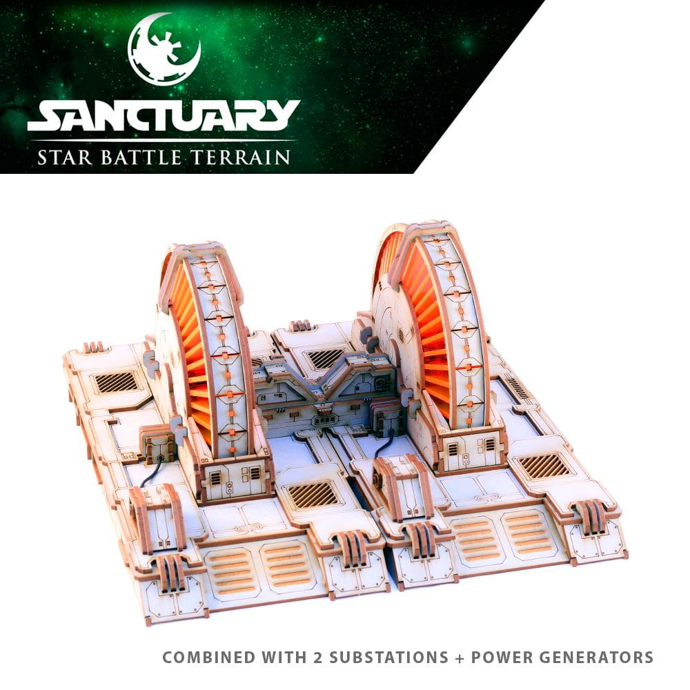 star wars legion power generator terrain piece