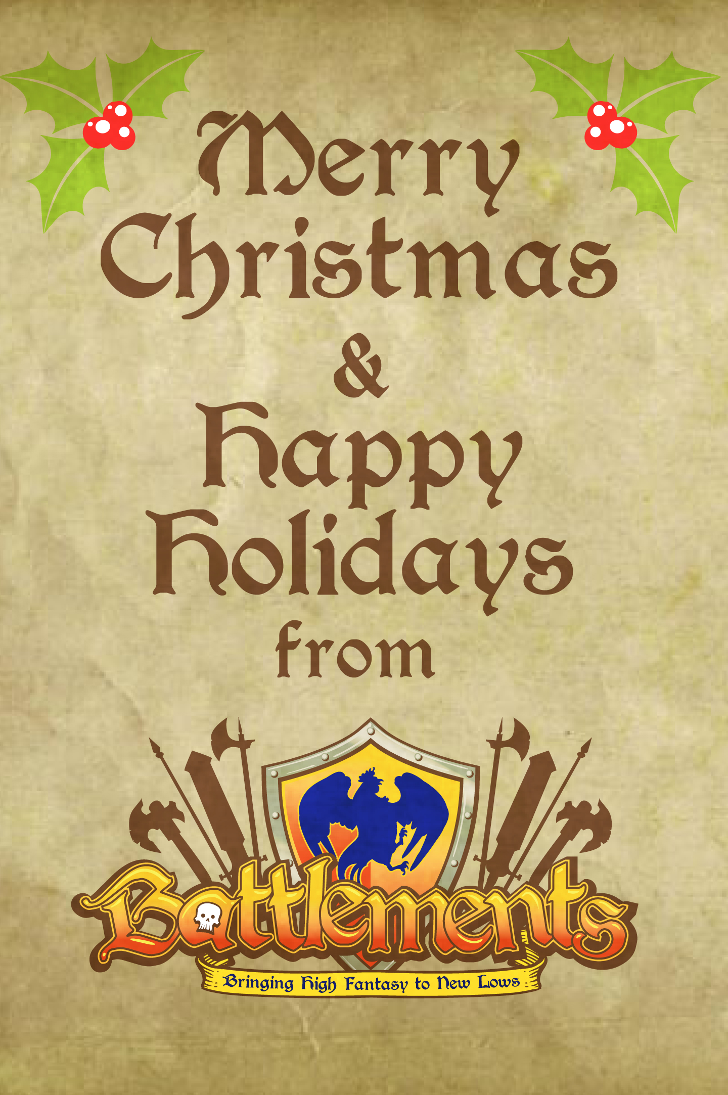 Happy Holidays from Battlements