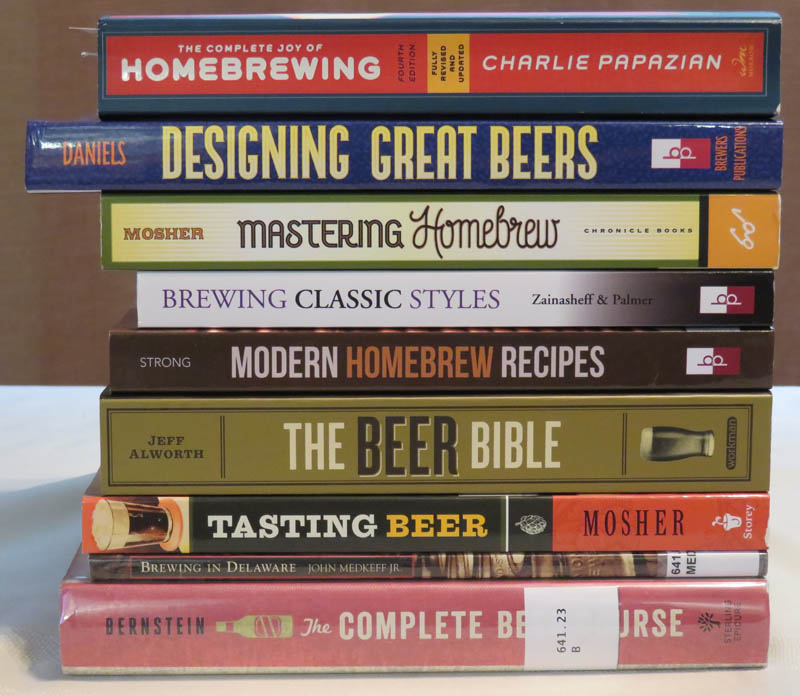 Some beer books worth reading.