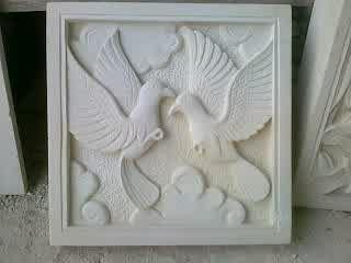 Ornamen Batu Alam motif Burung