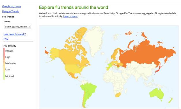 구글의 잘못된 미국 독감 예측