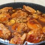 תבשיל פרגית ופטריות בטעם אסיאתי