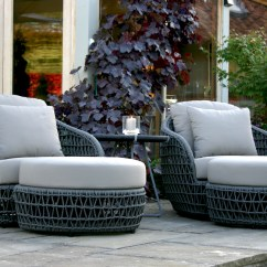 High Chair Accessories Metal Rail Molding 'rope' Garden Furniture - Bau Outdoors