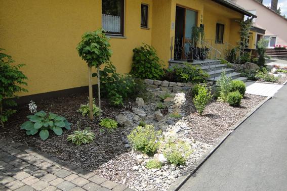 steingarten vorgarten - boisholz, Gartenarbeit ideen