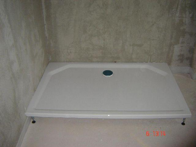 BAUDE  Forum  Sanitr Bad Dusche WC  11744 Wie muss ich Duschwanne auf Estrich