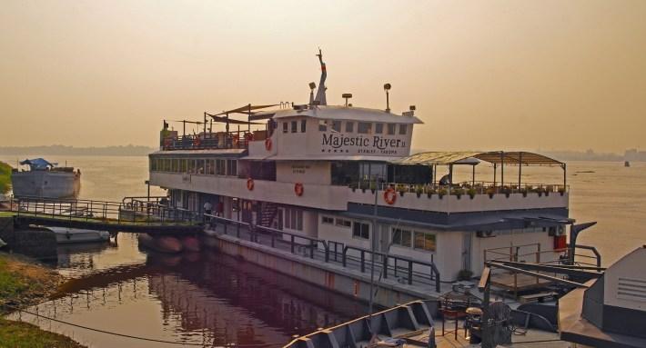 Kinshasa - The Majestic River Boat Restaurant