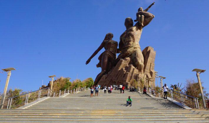 African Renaissance Monument in Dakar