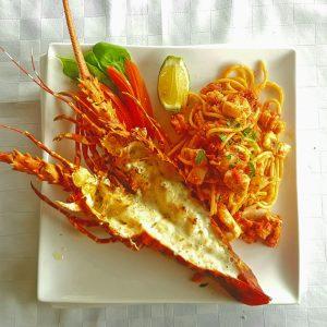 Lobster at Monsoons Restaurant