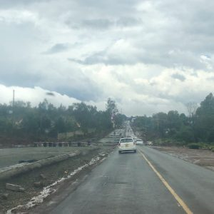 Endless roadworks in Nairobi