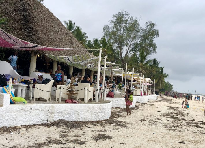 The Nomad Restaurant in Diani