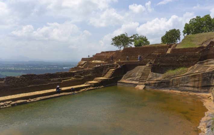 View from the Sigiriya Rock