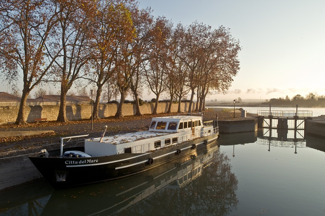 LES BORDS DE LA CHARENTE À ROCHEFORT