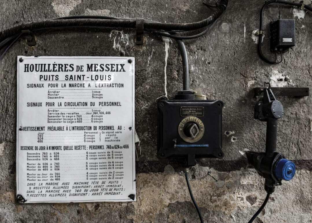 LA SALLE DES MACHINES - MESSEIX