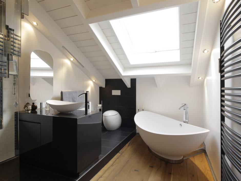 7 Tipps fr das Badezimmer unterm Dach  bauende