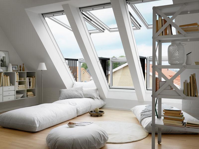 Dachboden ausbauen Dachausbau Ideen  bauende