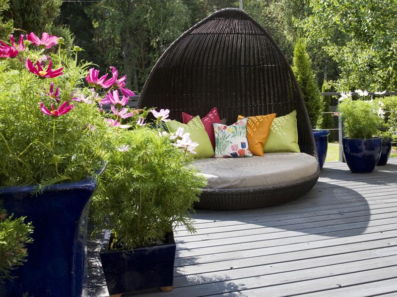 Kleiner Garten groe Wirkung  bauende