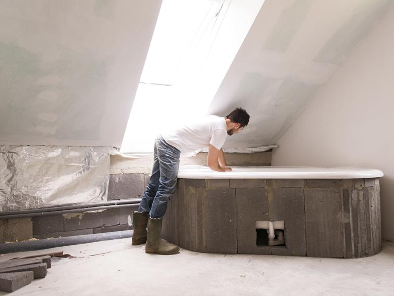 Badsanierung selbst das Bad sanieren und renovieren  bauende