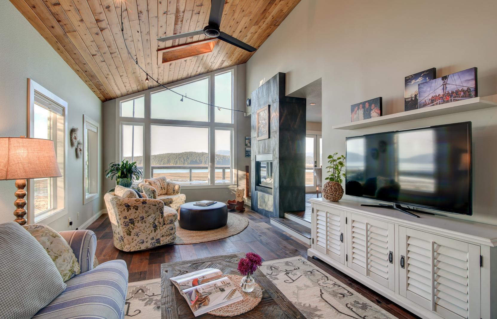 modern living room decor 2017 light green paint colors for douglas beach home- bauer/clifton interiors - juneau, alaska