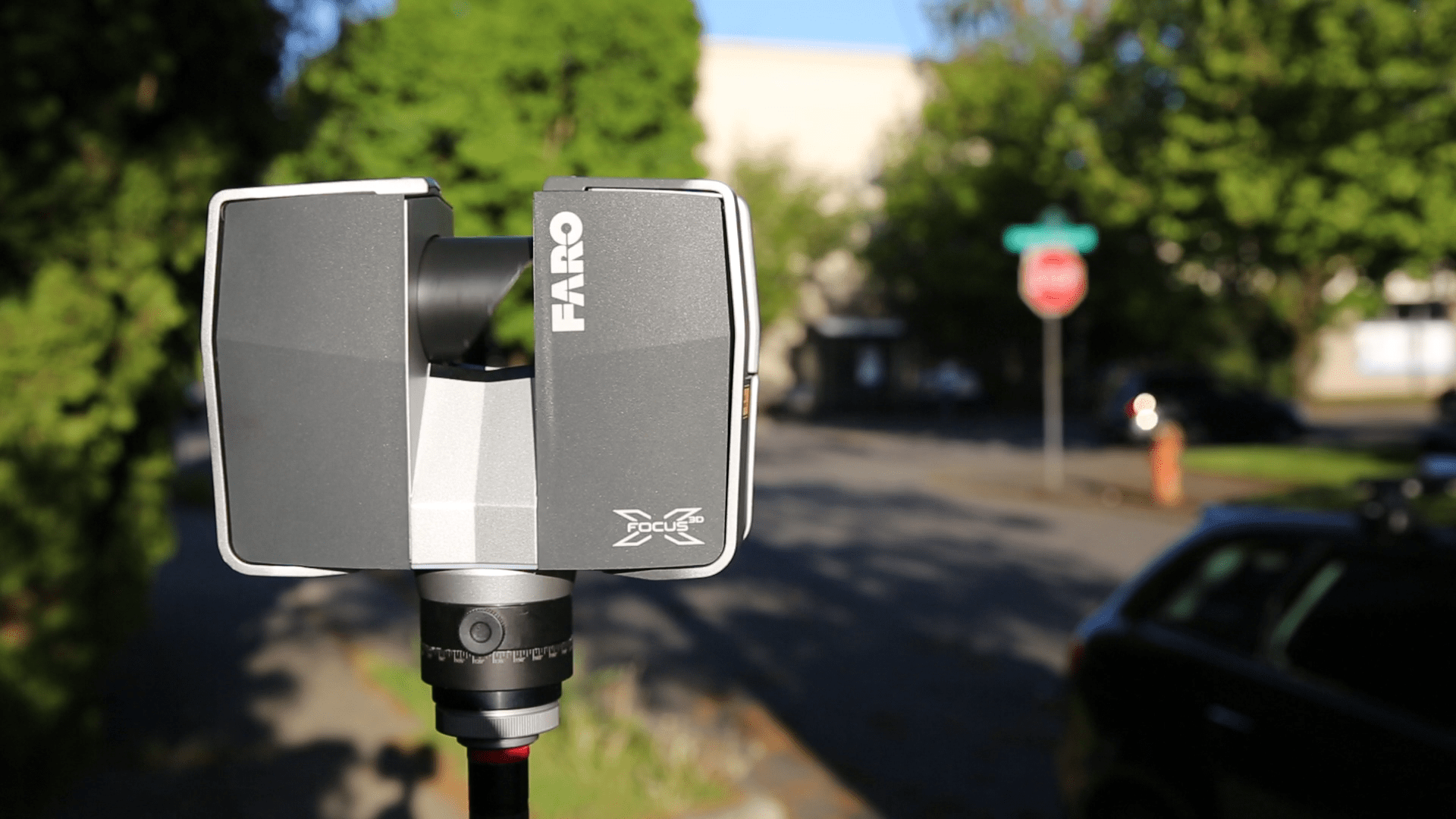 FARO 3D Laser Scanner for Documenting scenes and geometry