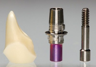 dental implant hybrid abutment