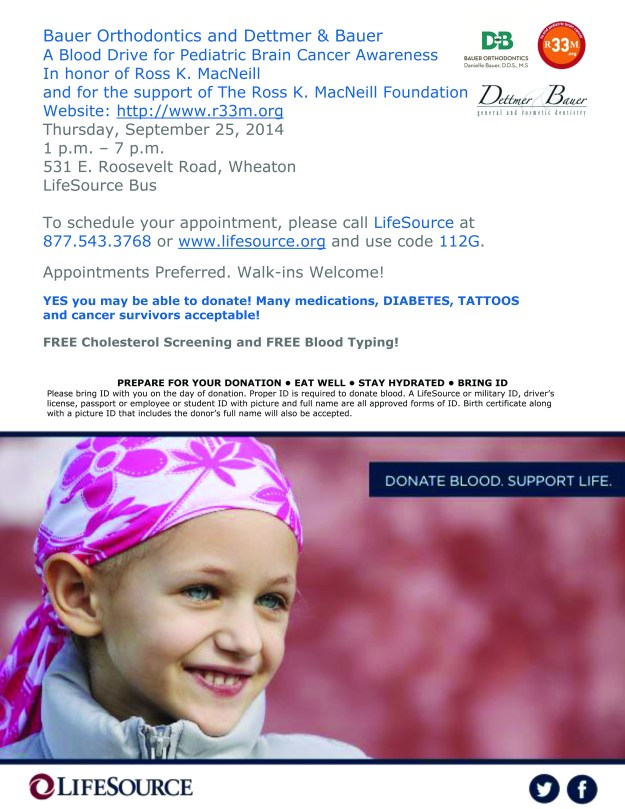 Dettmer and Bauer/Bauer Orthodonitcs Blood Drive