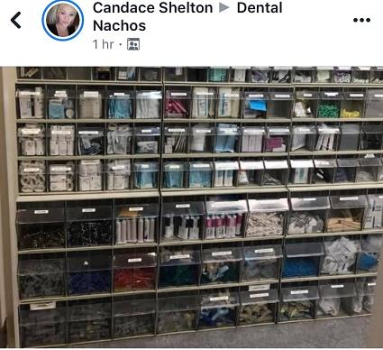 Dental supplies organization