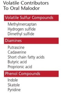 oral malodor compounds