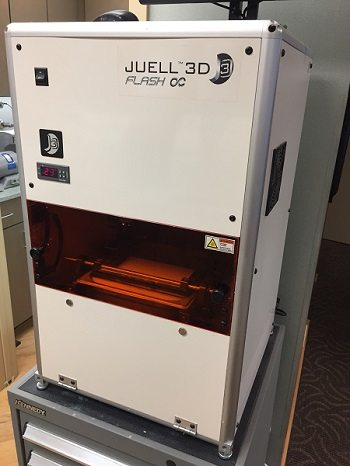 3D printing in dentistry uses this Juell 3D