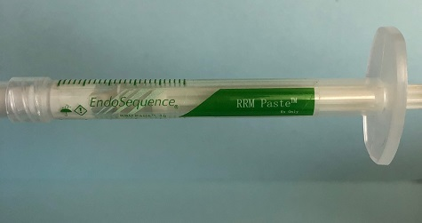 Bioactive dental materials that we use include RRM paste.